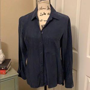Navy long sleeved shirt